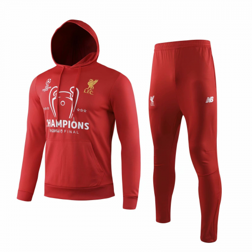 Liverpool Training Hoodie Jacket Suits Red 2019/20