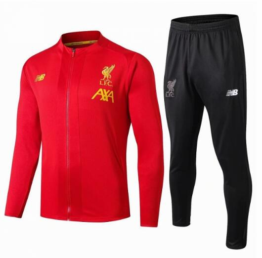 Liverpool Training Jacket Suits Red AXA 2019/20