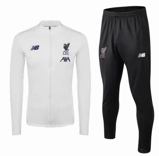 Liverpool Training Jacket Suits White 2019/20