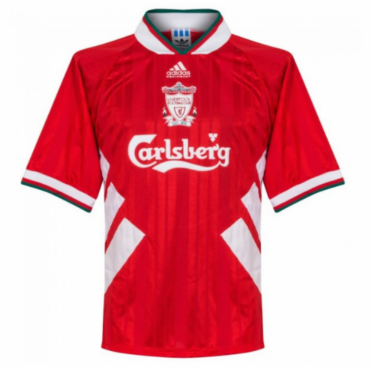Retro Liverpool Home Soccer Jersey 93/95