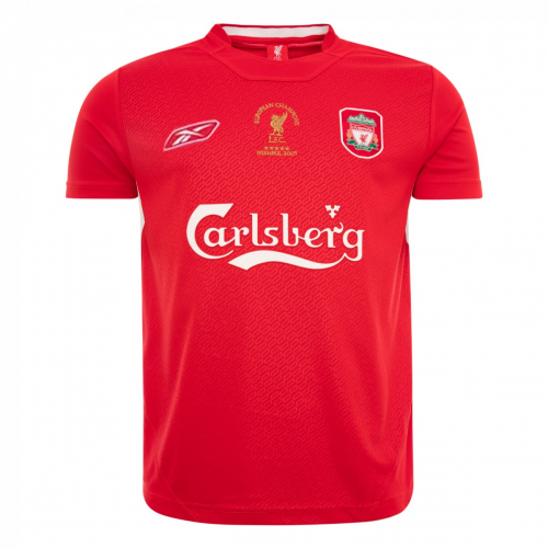 Retro Liverpool Home Soccer Jersey 2005