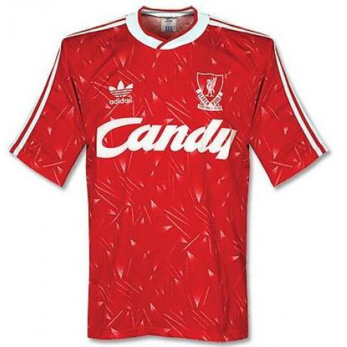 Retro Liverpool Home Soccer Jersey 1989/1991