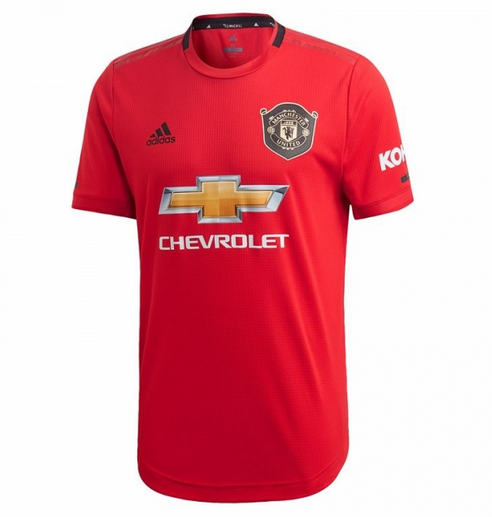 Manchester United Home Soccer Jersey Player Version 2019/20