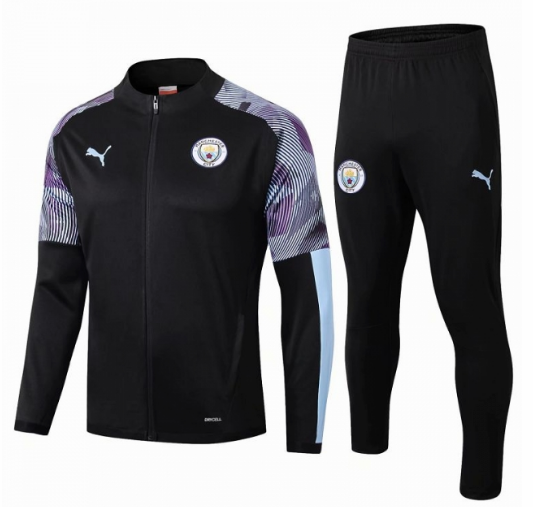 Manchester City Training Jacket Suits Black 2019/20