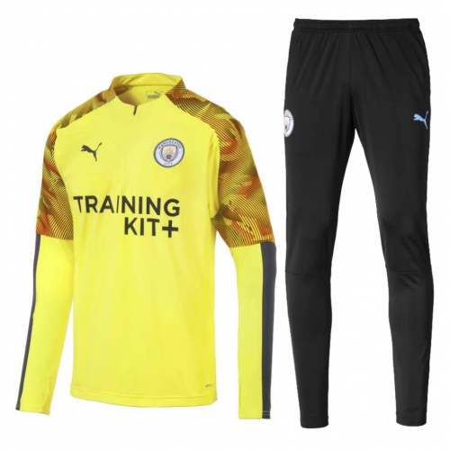 Manchester City Training Top Suits Yellow 2019/20
