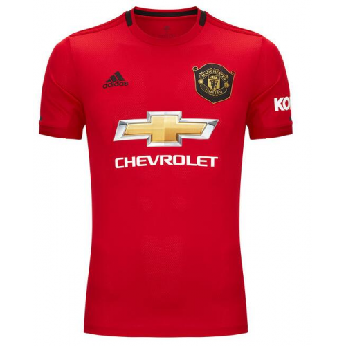 Manchester United Home Soccer Jersey 2019/20