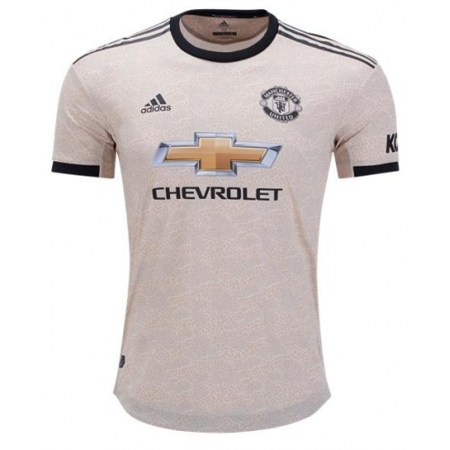 Manchester United Away Soccer Jersey Player Version 2019/20