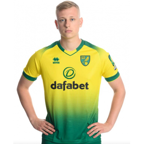 Norwich City Errea Home Soccer Jersey 2019/20
