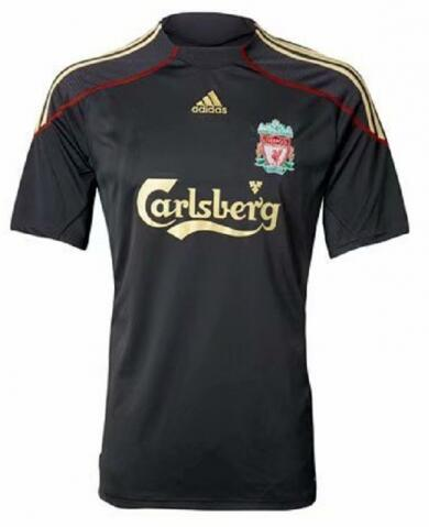 Retro Liverpool Away Soccer Jersey 09/10