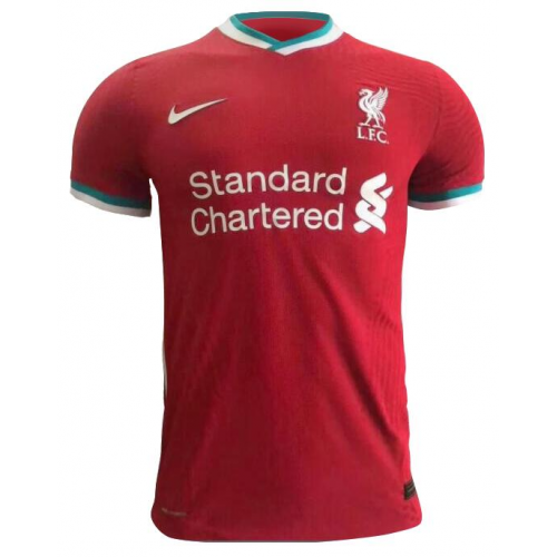 Liverpool Home Authentic Soccer Jersey 2020/21