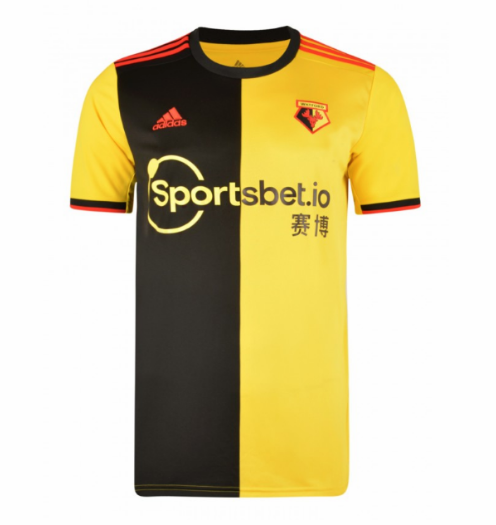 Watford Home Soccer Jersey 2019/20
