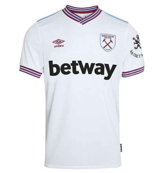 West Ham United Away Soccer Jersey 2019/20