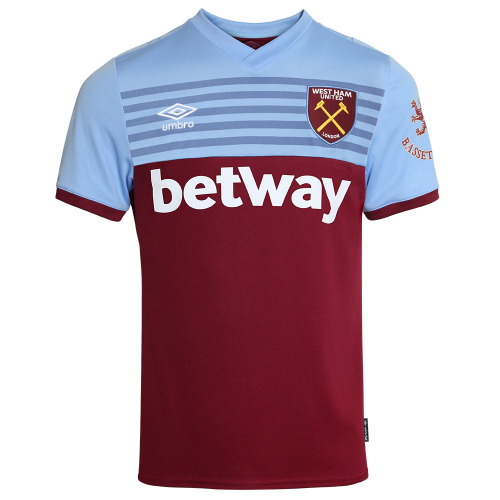 West Ham United Home Soccer Jersey 2019/20