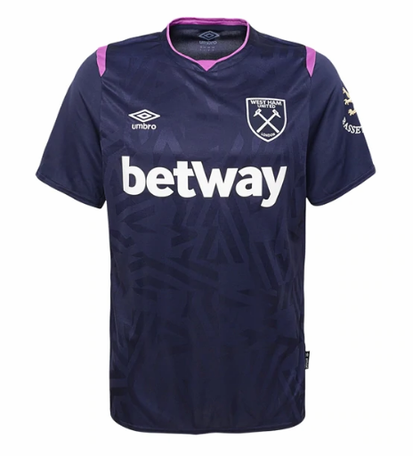 West Ham United 3rd Away Soccer Jersey 2019/20