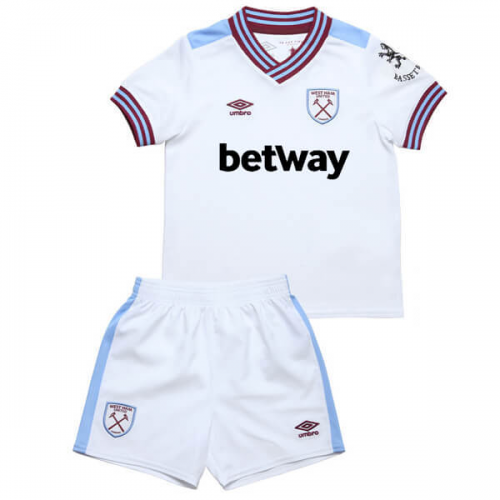 West Ham United Away Soccer Kits Children 2019/20