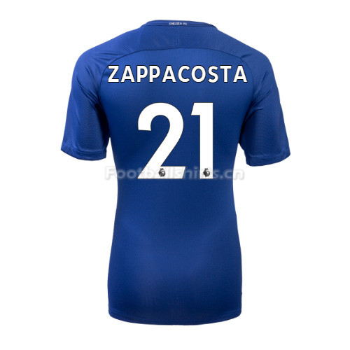 Chelsea Home ZAPPACOSTA #21 Soccer Jersey 2017/18