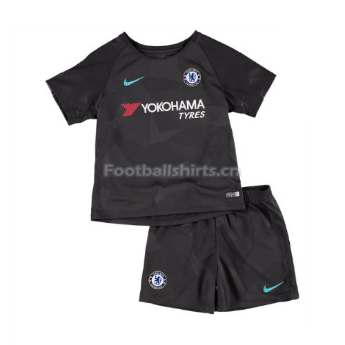 Kids Chelsea Third Soccer Kit Shirt + Shorts 2017/18