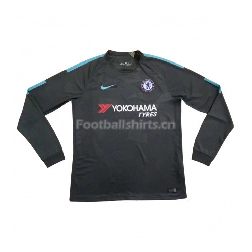 Chelsea Third Long Sleeve Soccer Jersey 2017/18