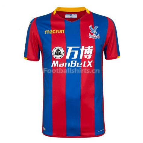 Crystal Palace Home Soccer Jersey 2017/18