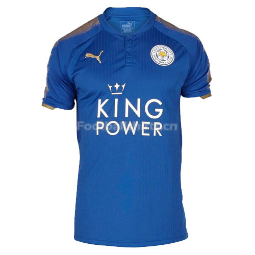 Leicester City Home Soccer Jersey 2017/18