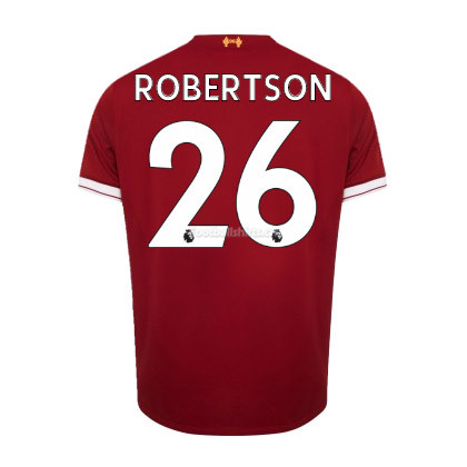 Liverpool Home Robertson #26 Soccer Jersey 2017/18