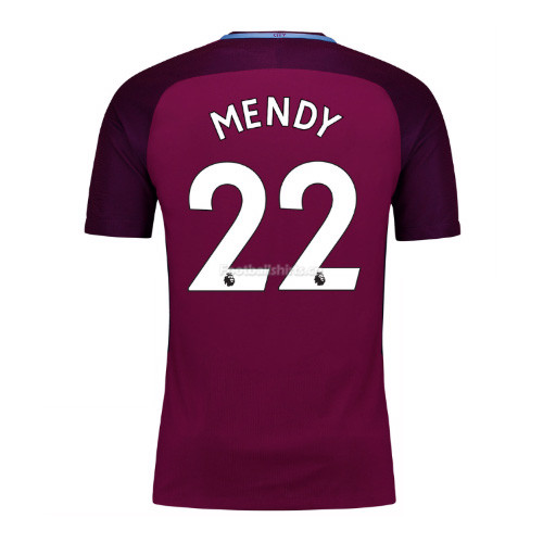 Manchester City Away Mendy #22 Soccer Jersey 2017/18
