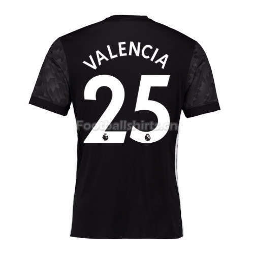 Manchester United Away Valencia #25 Soccer Jersey 2017/18