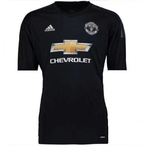 Manchester United Home Goalkeeper Soccer Jersey 2017/18