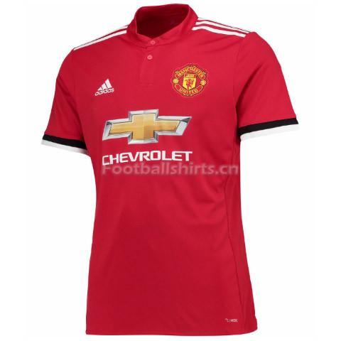 Manchester United Home Soccer Jersey 2017/18