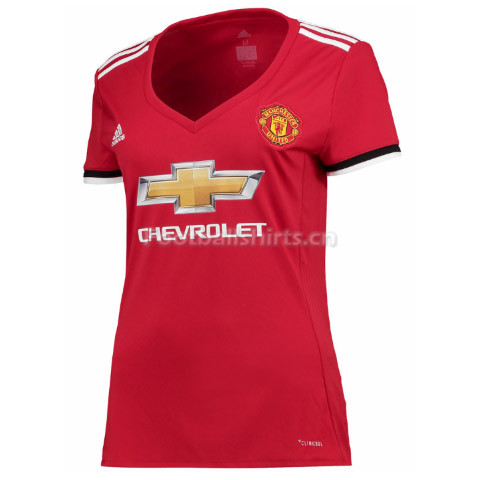 Manchester United Home Women's Soccer Jersey 2017/18