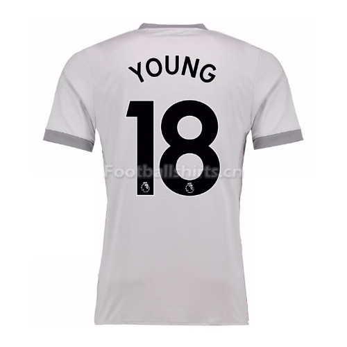 Manchester United Third Young #18 Soccer Jersey 2017/18