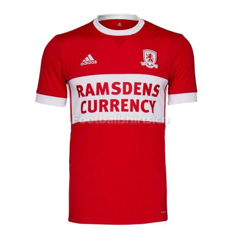 Middlesbrough Home Soccer Jersey 2017/18