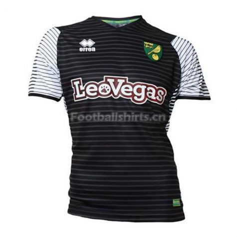 Norwich City Errea Away Soccer Jersey 2017/18
