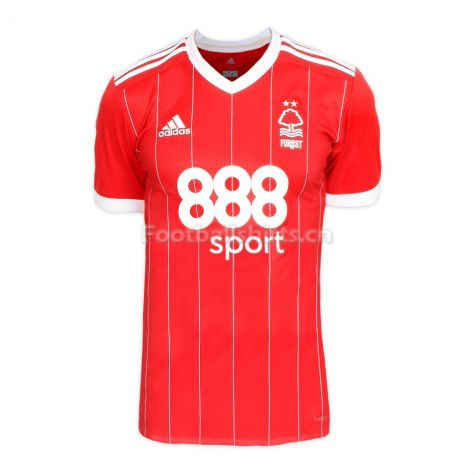 Nottingham Forest Home Soccer Jersey 2017/18