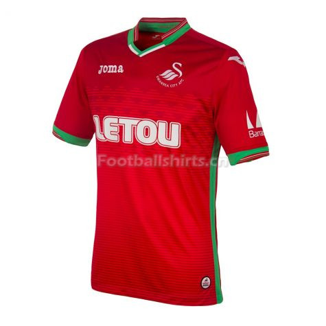 Swansea City Away Soccer Jersey 2017/18