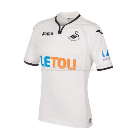 Swansea City Home Soccer Jersey 2017/18