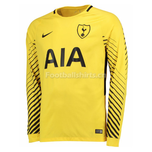Tottenham Hotspur Goalkeeper Yellow Long Sleeve Shirt 2017/18