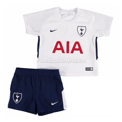 Kids Tottenham Hotspur Home Soccer Kit Shirt and Shorts 2017/18