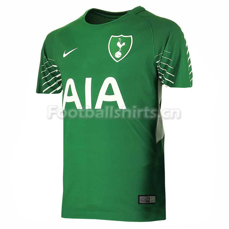 Tottenham Hotspur Goalkeeper Green Shirt 2017/18