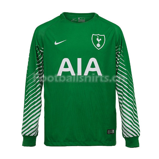 Tottenham Hotspur Goalkeeper Green Long Sleeve Shirt 2017/18