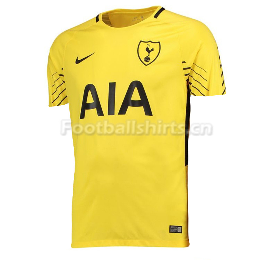 Tottenham Hotspur Goalkeeper Yellow Shirt 2017/18