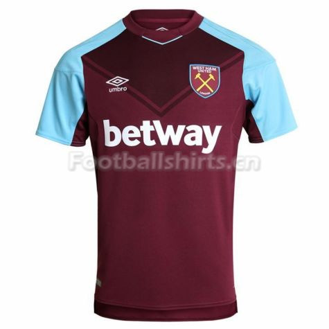 West Ham United Home Soccer Jersey 2017/18