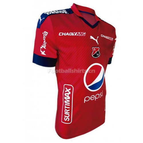 Independiente de Medellin Home Soccer Jersey 2017/18