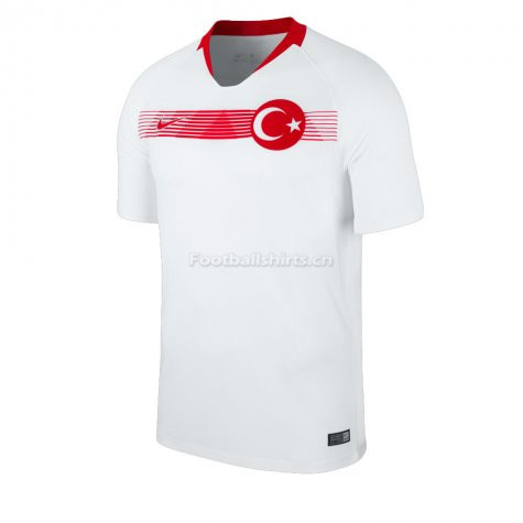 Turkey Away Soccer Jersey 2018/19