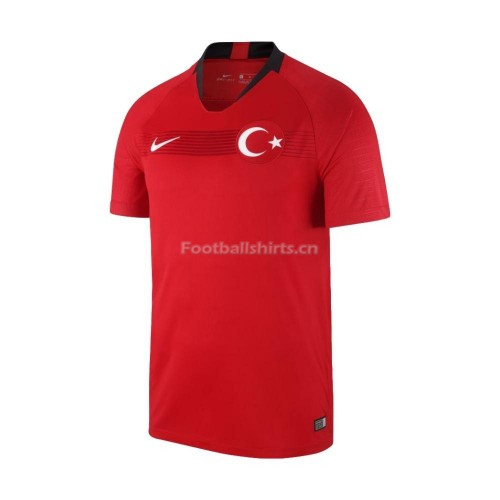 Turkey Home Soccer Jersey 2018/19