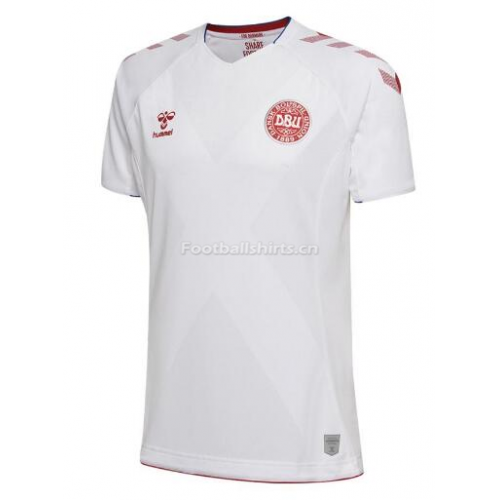Denmark 2018 World Cup Away Soccer Jersey