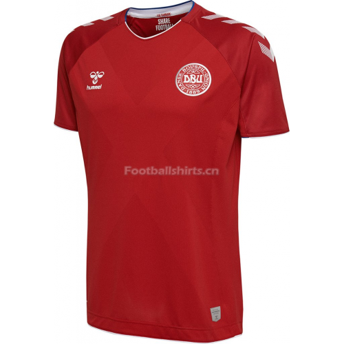 Denmark 2018 World Cup Home Soccer Jersey