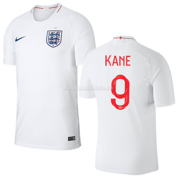 England 2018 FIFA World Cup HARRY KANE 9 Home Soccer Jersey