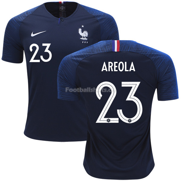 France 2018 World Cup ALPHONSE AREOLA 23 Home Soccer Jersey