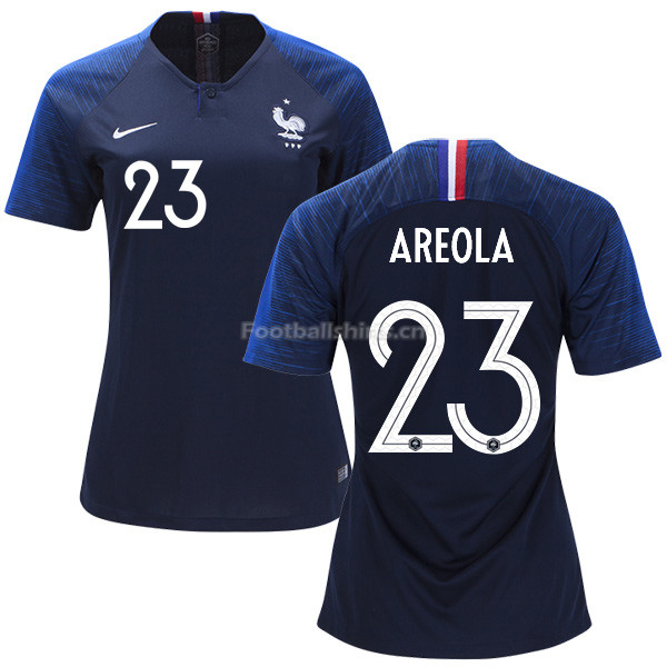 France 2018 World Cup ALPHONSE AREOLA 23 Women's Home Soccer Jer